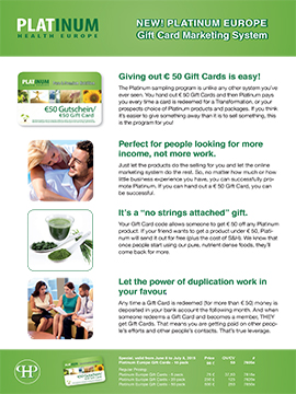 Download Gift Card Flyer